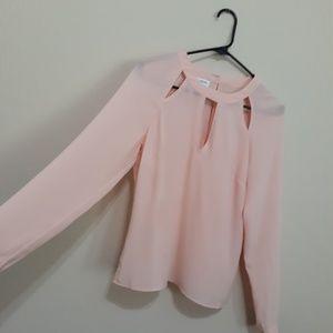 Pink Blouse long sleeves shirt